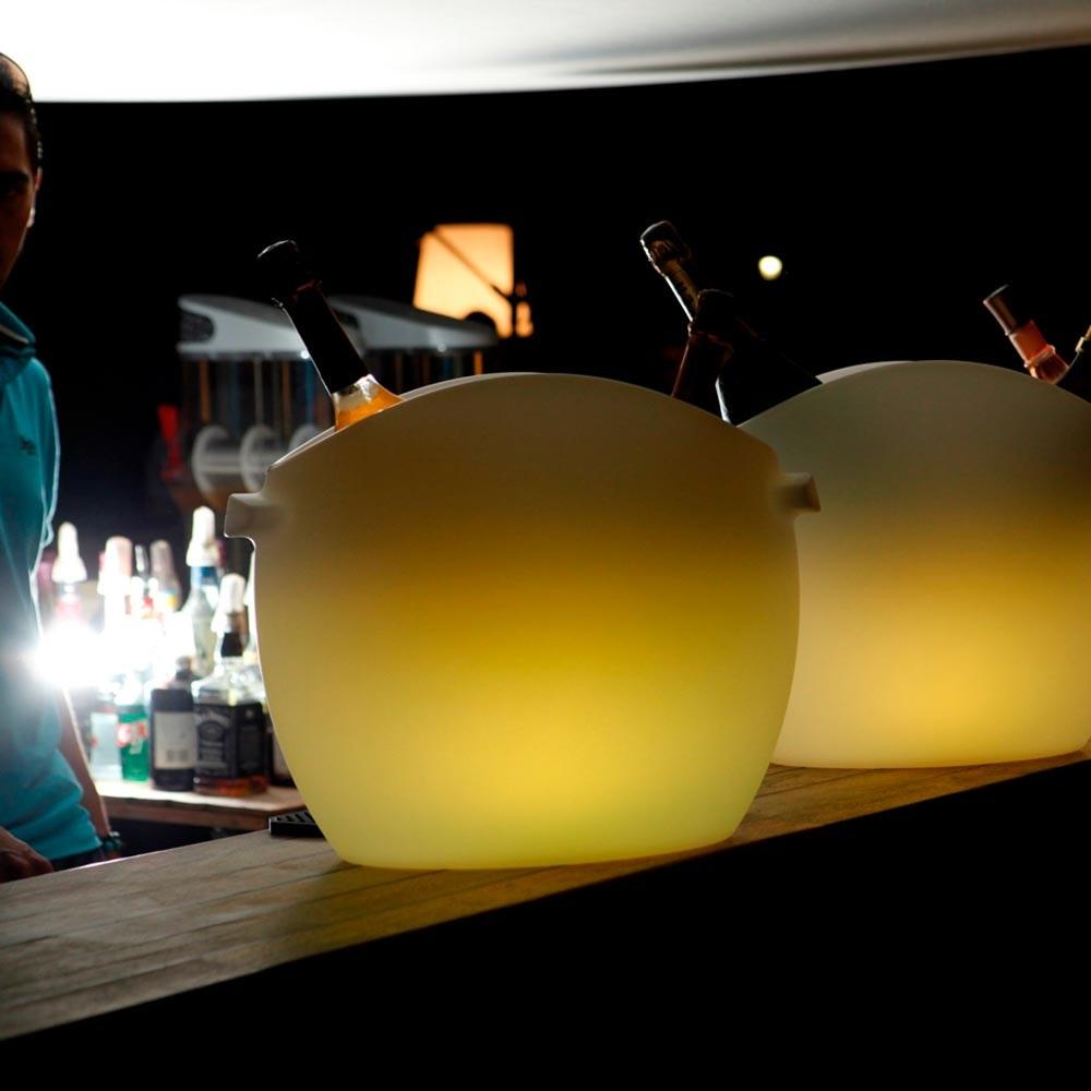 Akku LED-Flaschenkühler So Fresh 43cm mit App-Steuerung 2