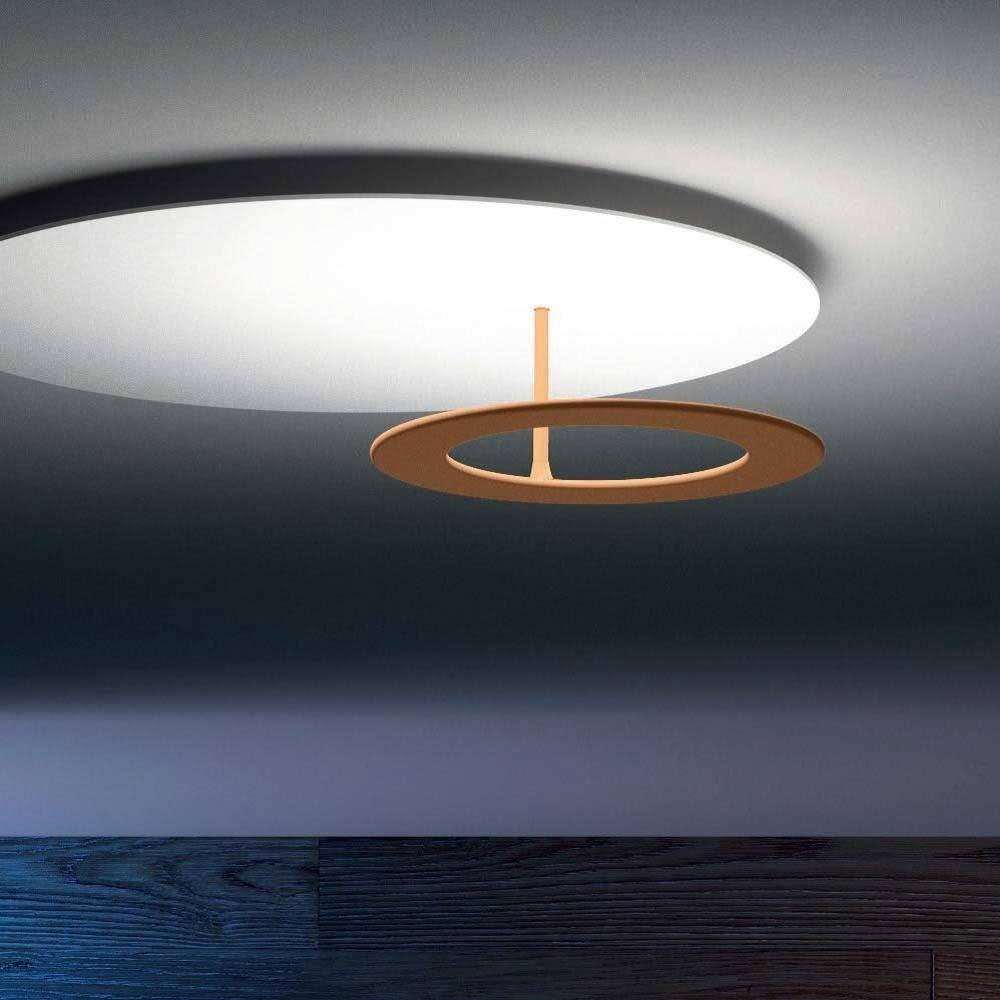 Icone LED Deckenleuchte Vera Ø 66cm Weiß, Kupfer bronziert 1