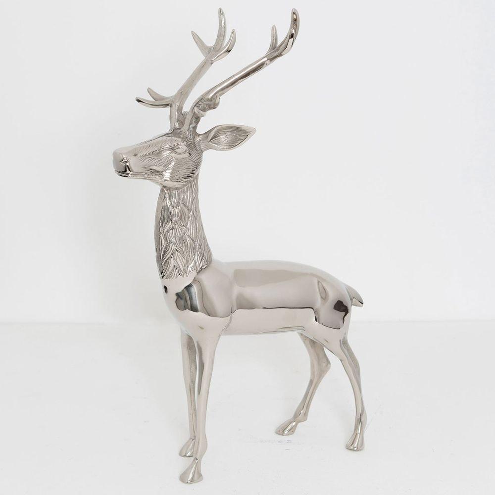Hirsch Cervo Aluminium Silber 1