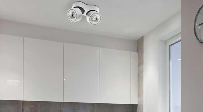 simple Deckenstrahler LED Küche