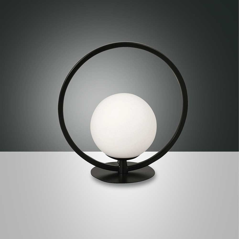 Fabas Luce LED Tischlampe Sirio Rund 5