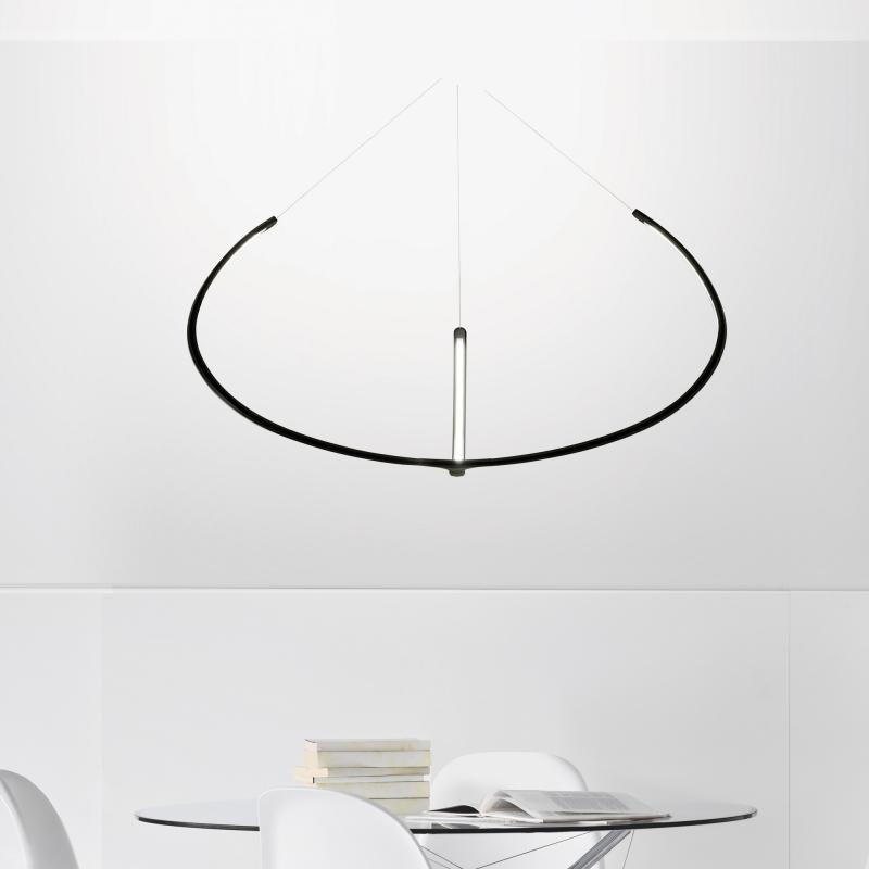 Nemo Alya futuristische LED Hängelampe Ø 100cm 3