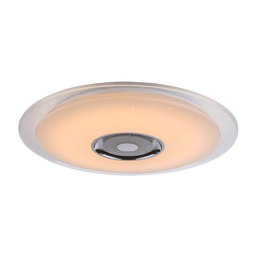 LED Deckenleuchte Tune Sparkle Decor Lautsprecher CCT APP Weiß, Opal, Klar 5