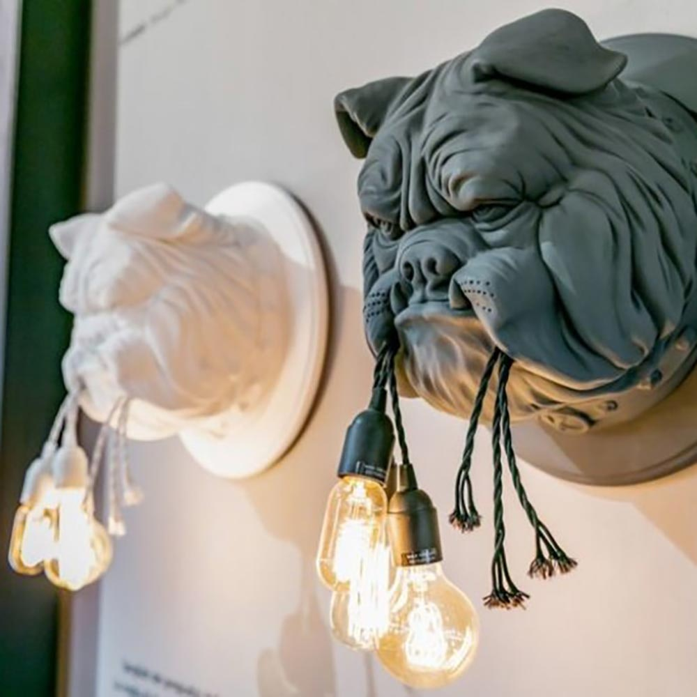 Karman Amsterdam Wandleuchte Bulldogge