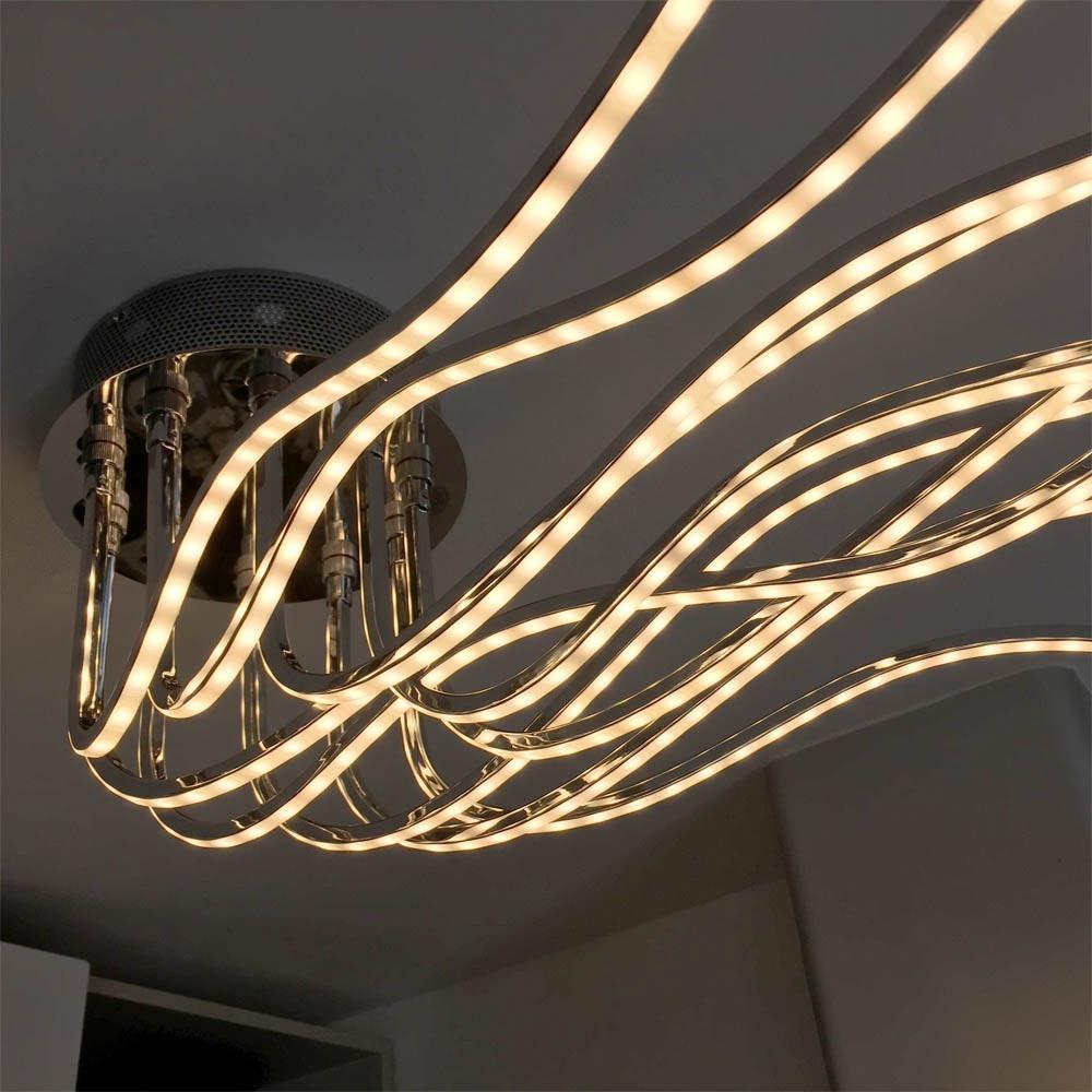 Sculli Design LED-Deckenleuchte mit Metallarmen thumbnail 5
