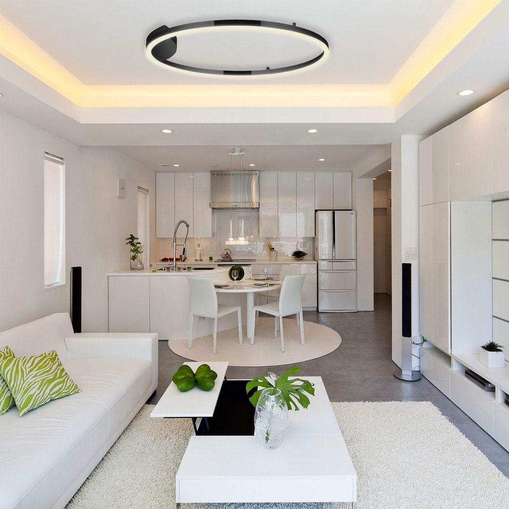 s.LUCE Ring 80 Wand & Deckenlampe LED Dimmbar 7