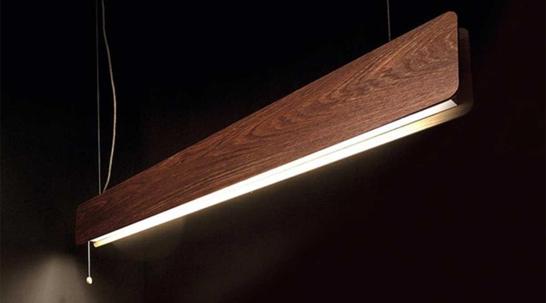 Hängeleuchte Tischbeleuchtung Holz