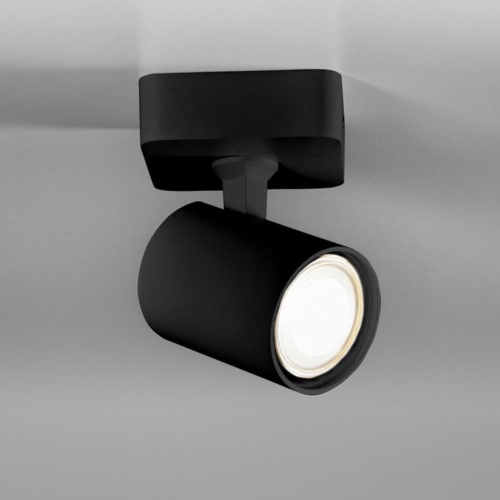 Licht-Trend Wand- und Deckenlampe Cup GU10 Schwarz