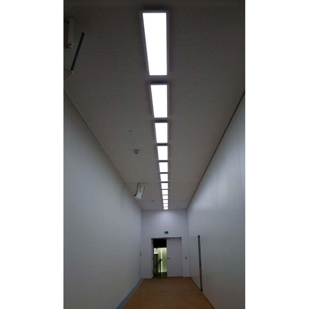 Q-Flat 120 x 30cm LED Deckenleuchte 2700 - 5000K Weiß 10