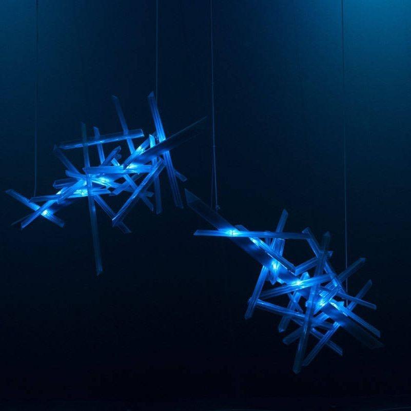 Slamp LED Hängelampe La Traviata Lichtskulptur 8