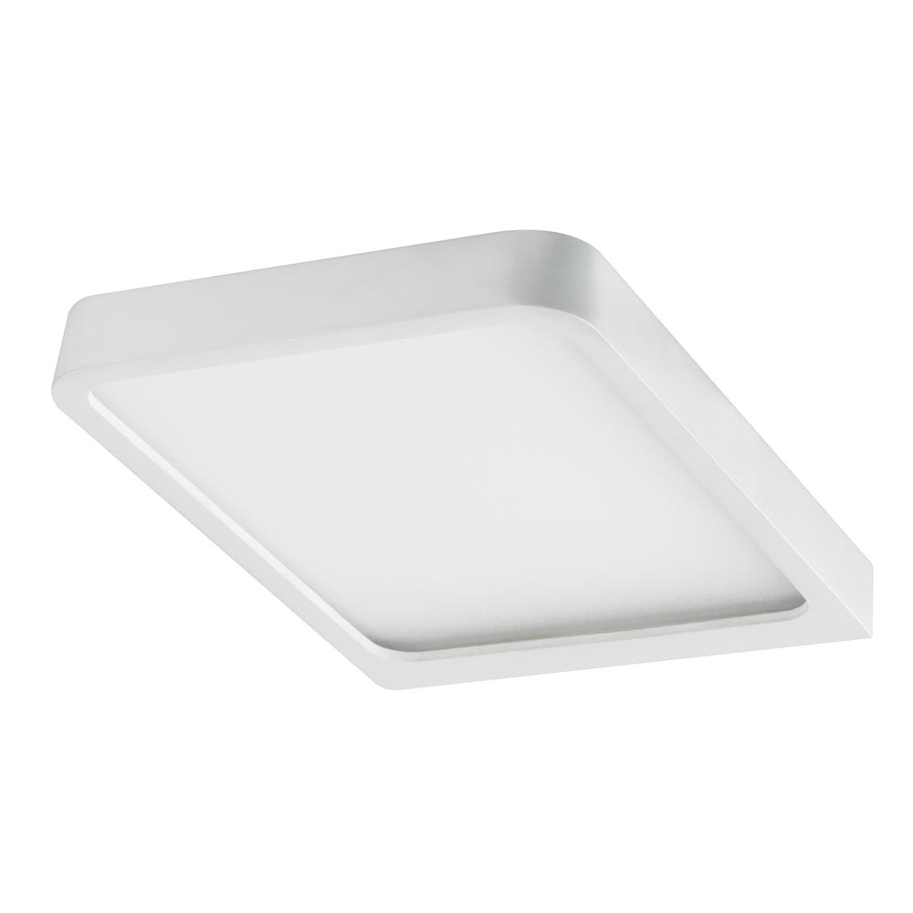 Möbel Aufbauleuchte LED Vane eckig inklusive LED-Modul 1x6, 7W 2