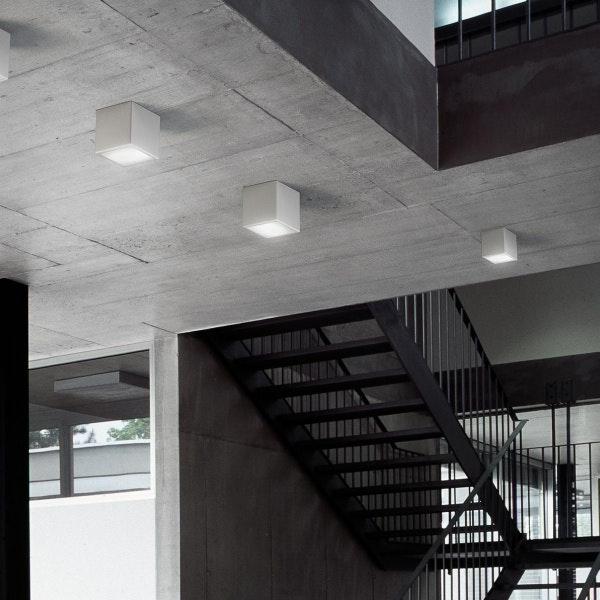Panzeri Three LED-Deckenlampe Würfelform thumbnail 3