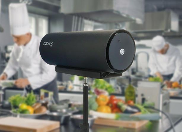 ozonos Tischgerät in Großküche
