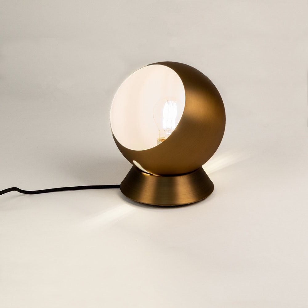 s.LUCE Ball Decken-, Wand- & Tischlampe verstellbar Ø 20cm 1
