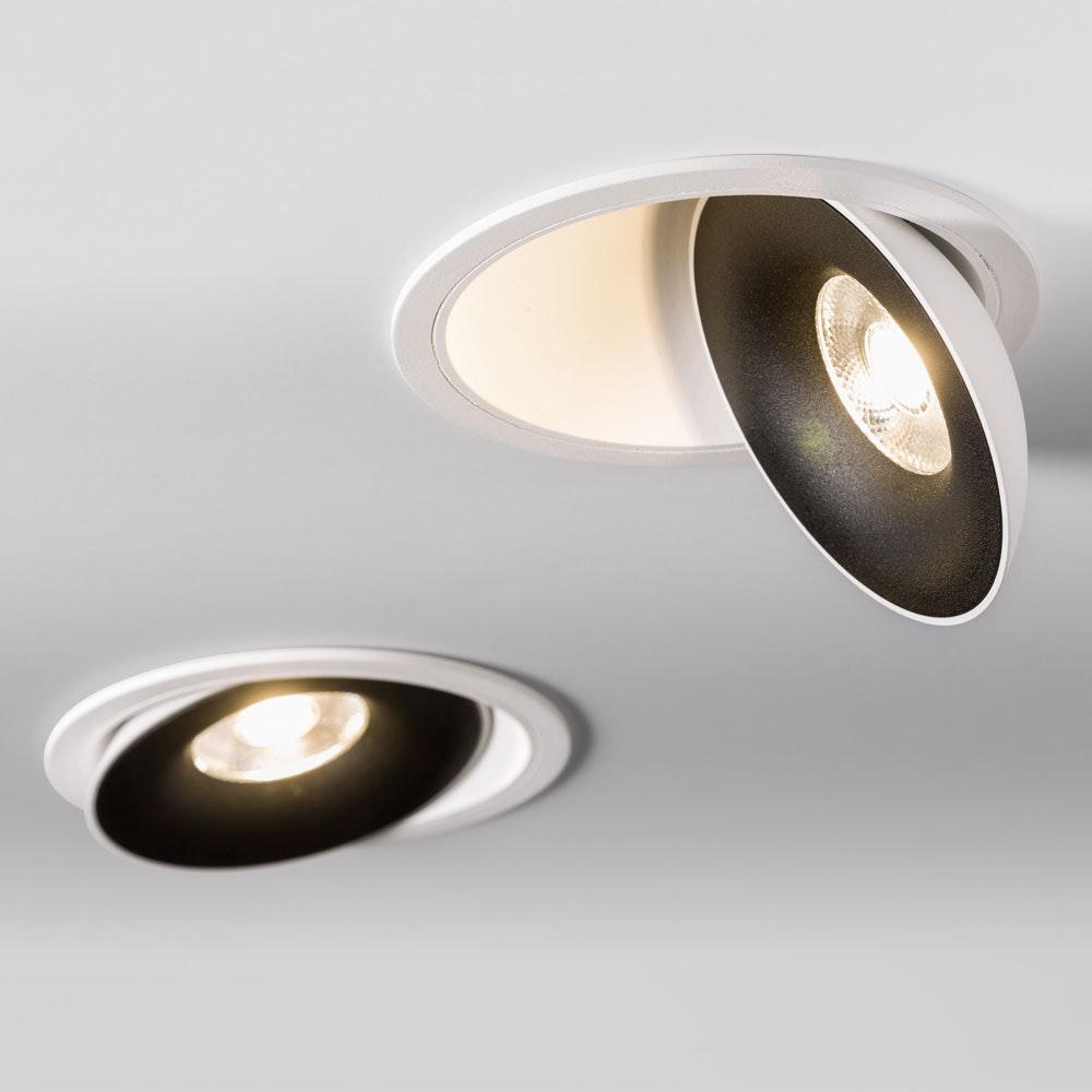 Santa LED Einbauspot schwenkbar & dimmbar 810lm Weiß, Schwarz