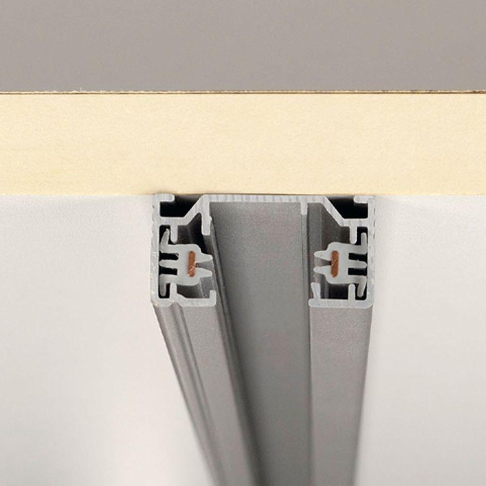 SLV 1-Phasen Hochvoltschiene Aufbauversion silbergrau 1m 2