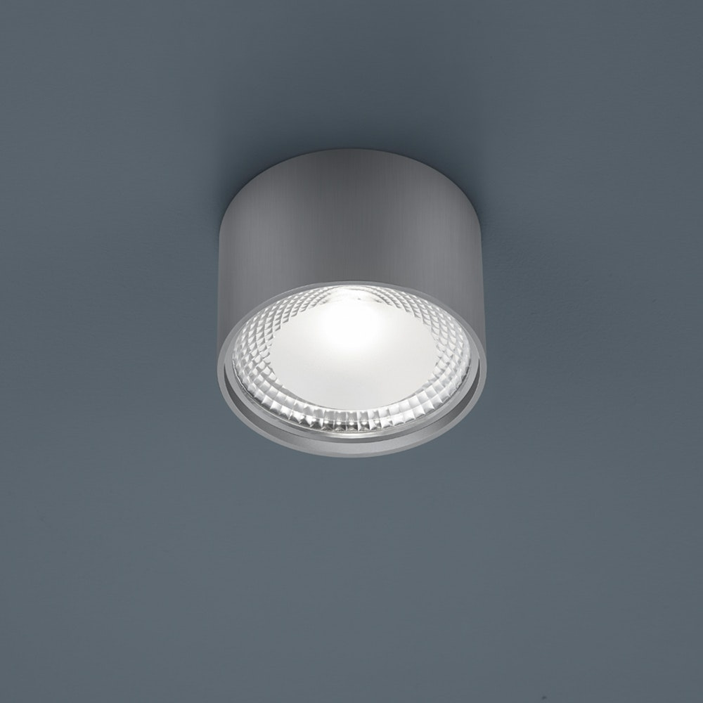 Helestra LED Deckenlampe Kari Nickel-Matt