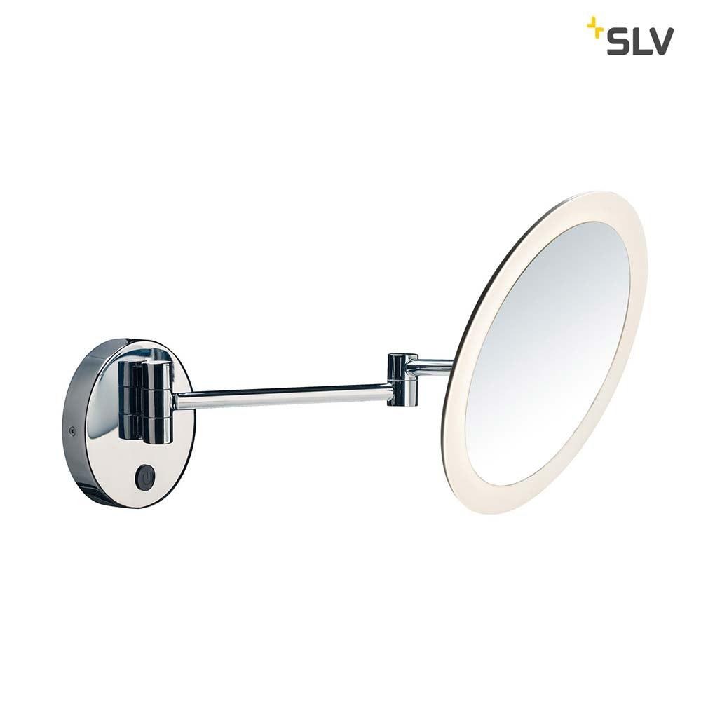 SLV Maganda LED Kosmetikspiegel Chrom IP44 4