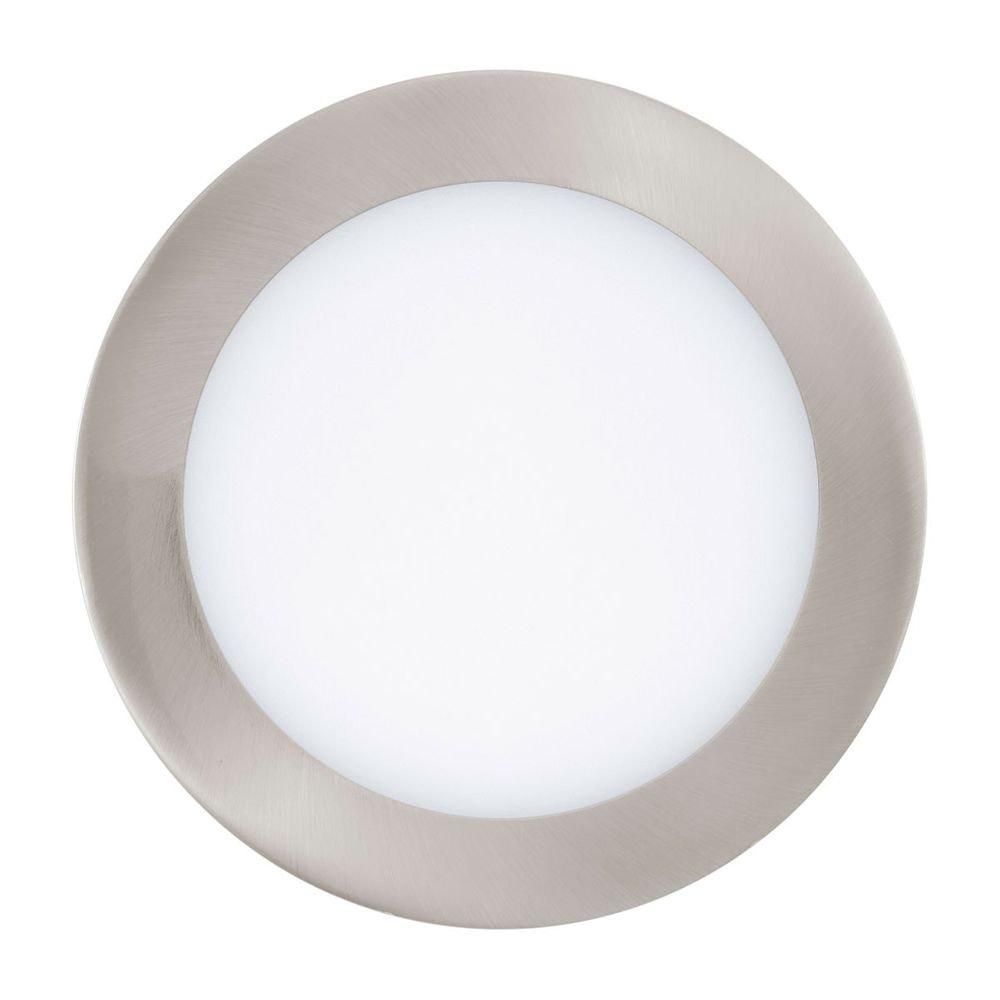 Fueva LED-Einbaupanel Ø 17 1200lm Warmweiß Alu-matt dimmbar 1