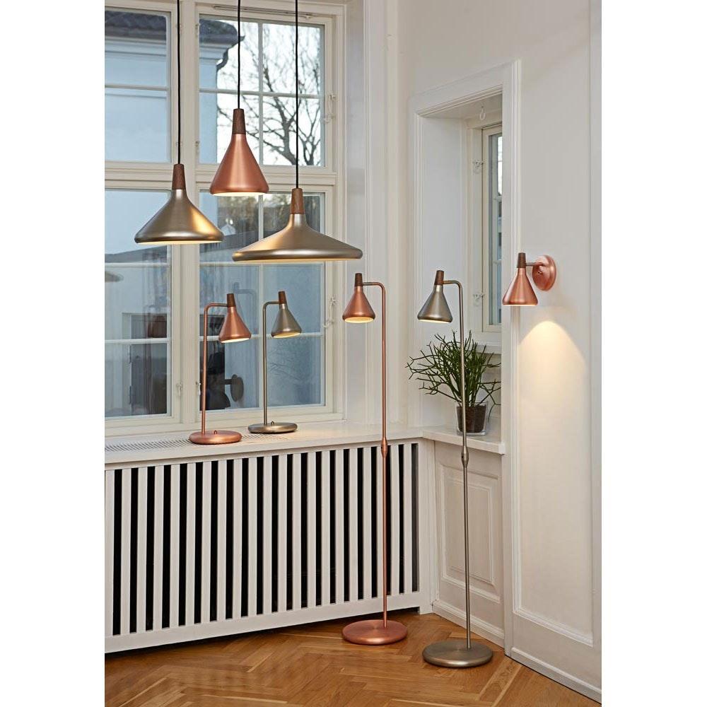Licht-Trend Vintage Wandleuchte Pinzantero Alu-Gebürstet 2