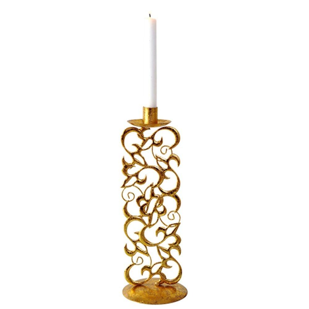 Kerzenleuchter Claire Klein Metall Gold 2