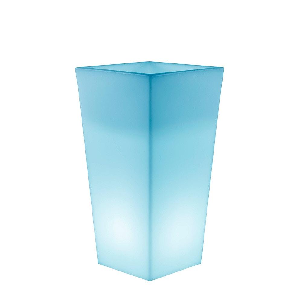 Licht-Trend LED Solar-Topf Melisa mit Akku mit Fernbedienung  4