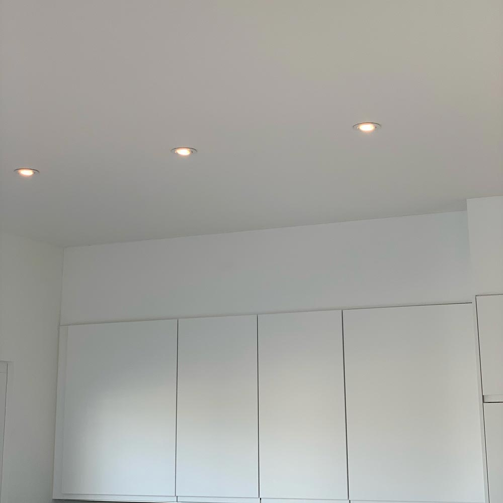 Brumberg LED Decken-Einbaulampe 470lm Weiß dim2warm IP65 3