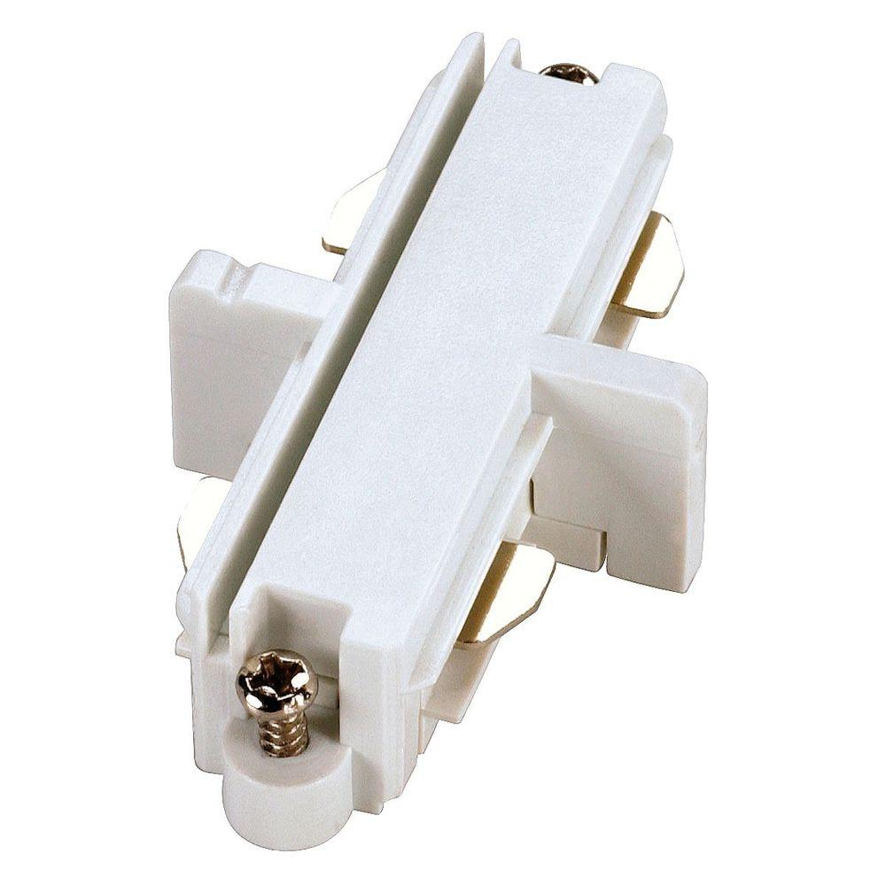SLV Längsverbinder für 1-Phasen HV-Stromschiene weiss elektrisch 1