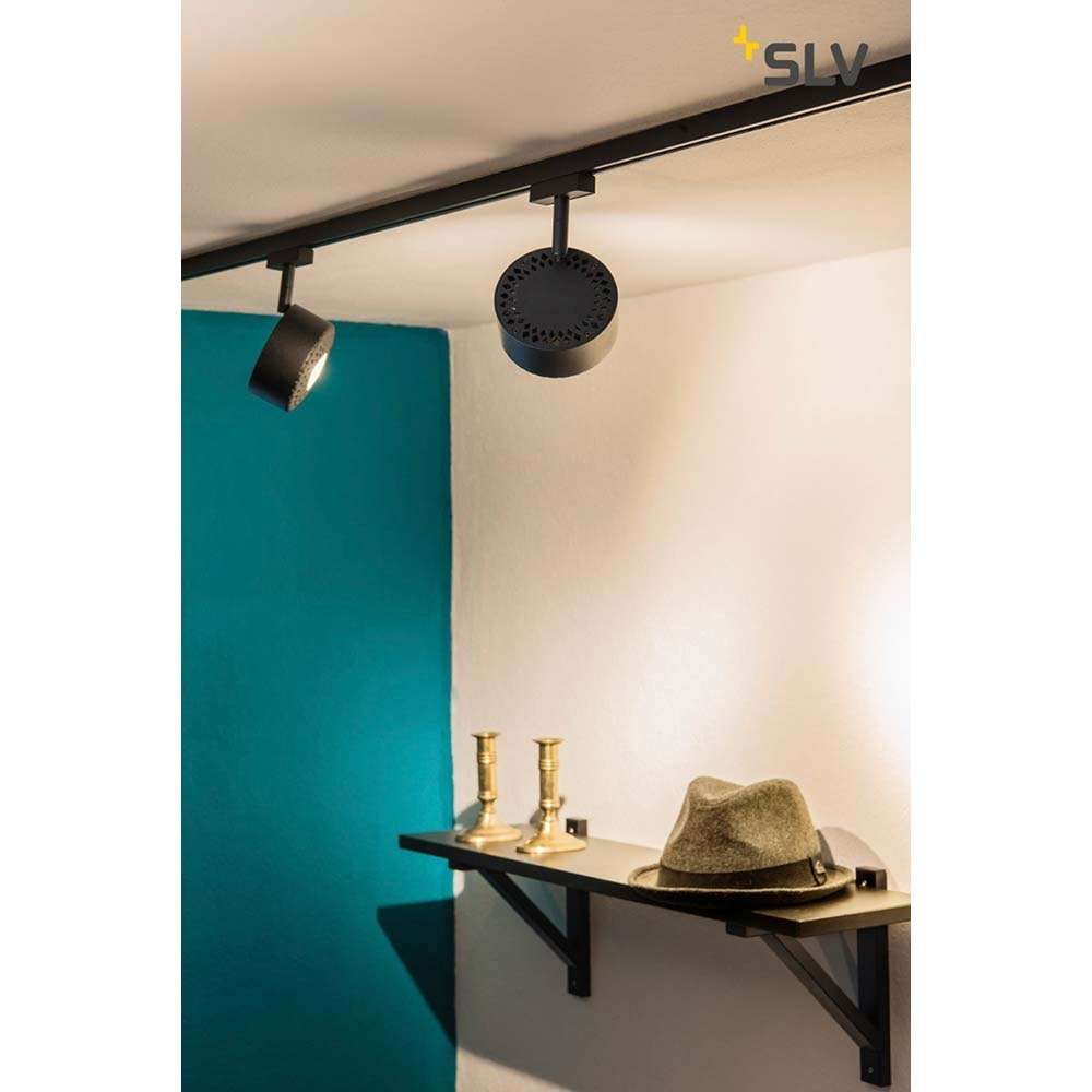 SLV Tothee LED Strahler für 2Phasen-Stromschiene 3000K Schwarz 50° 2