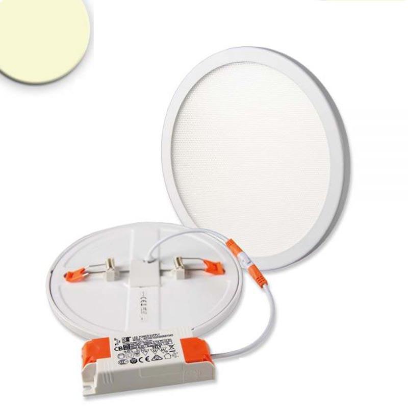 Einbau LED-Panel Ø 17,5cm Flex 15W Ausschnitt 5-16cm warmweiß 1