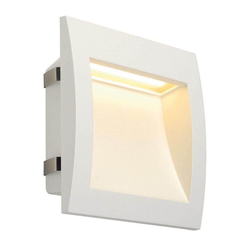 SLV Downunder OUT LED L Wandeinbauleuchte Weiß
