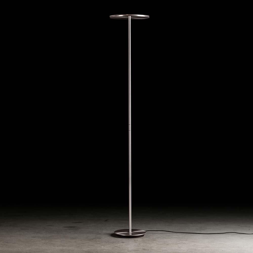 Plano LED-Deckenfluter 185cm Aluminium-matt 1