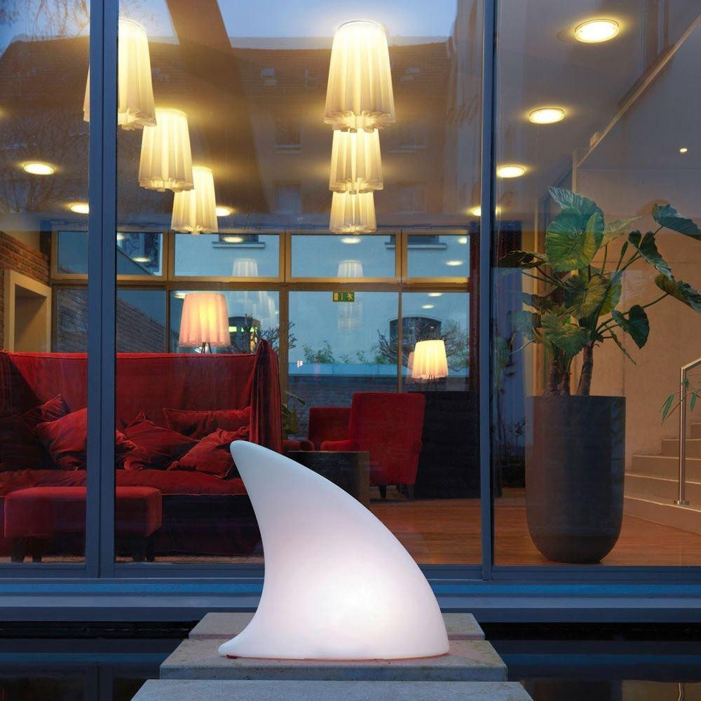 Moree LED Akku Dekoleuchte Shark mit Farbwechsel IP44 7