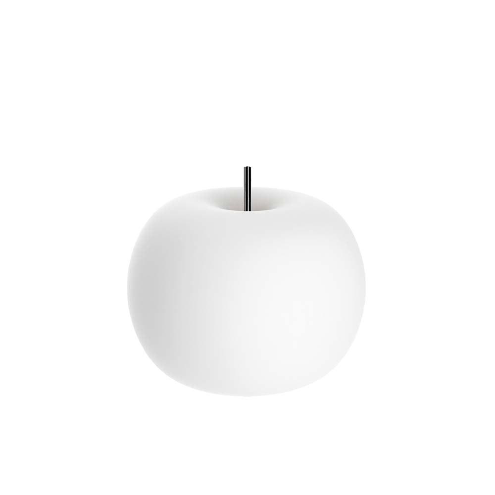 Kundalini Glas LED-Tischlampe Kushi Ø16cm Dimmbar 1