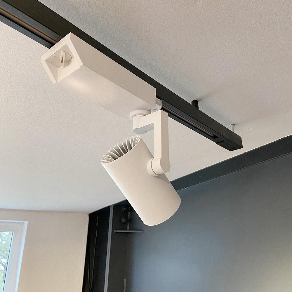 Golo 3-Phasen Power-LED Schienenstrahler 2500lm CRI>90 36°  11