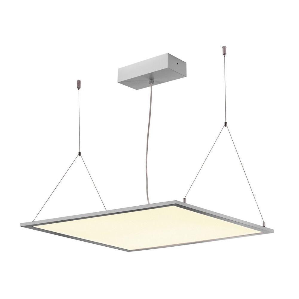 SLV I-Vidual Premium LED Panel für Rasterdecken 60x60cm 4000K Silber 2
