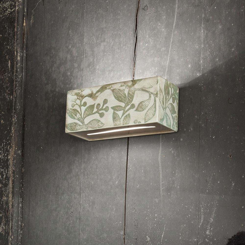 Ferroluce Vague-Vintage Wandleuchte 25cm 1