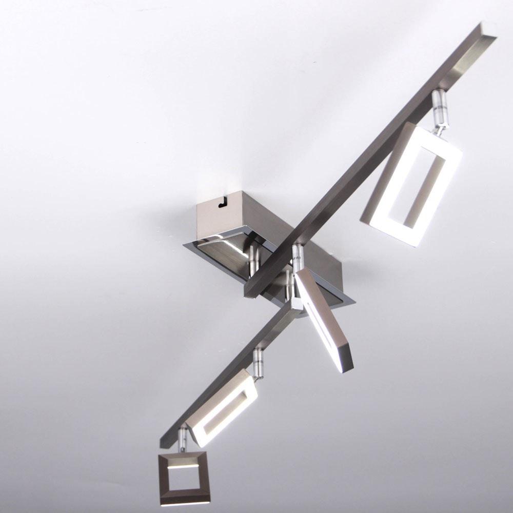 Inigo LED Deckenleuchte Stahl 4
