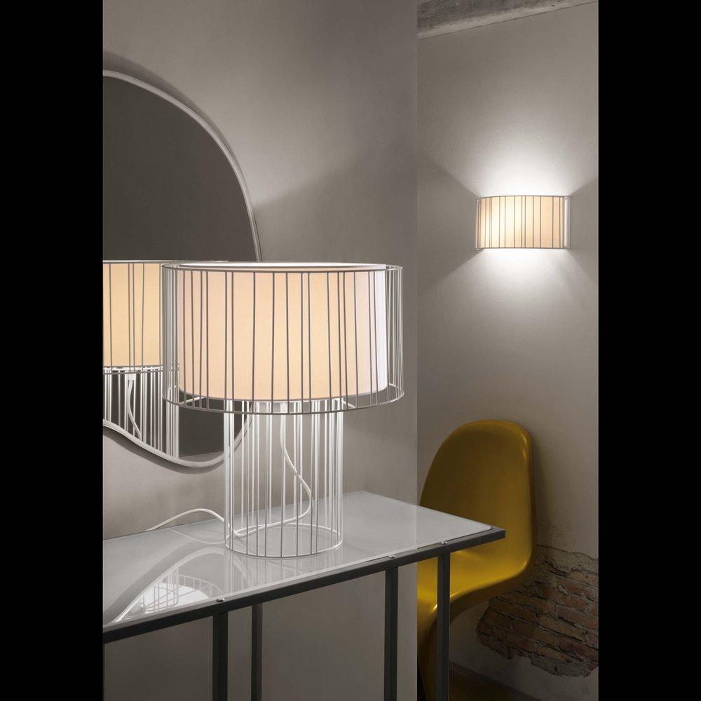 Tischlampe LINDA Weiß 2