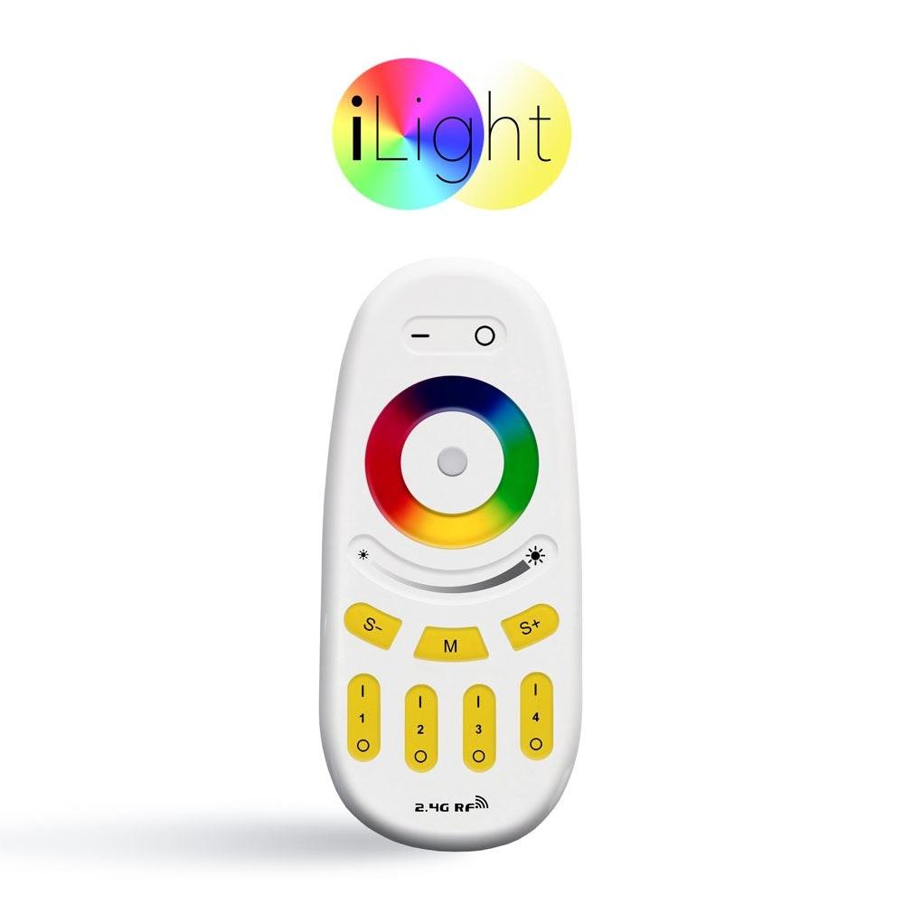 s.LUCE iLight Fernbedienung für Leuchtmittel & Strip RGBW