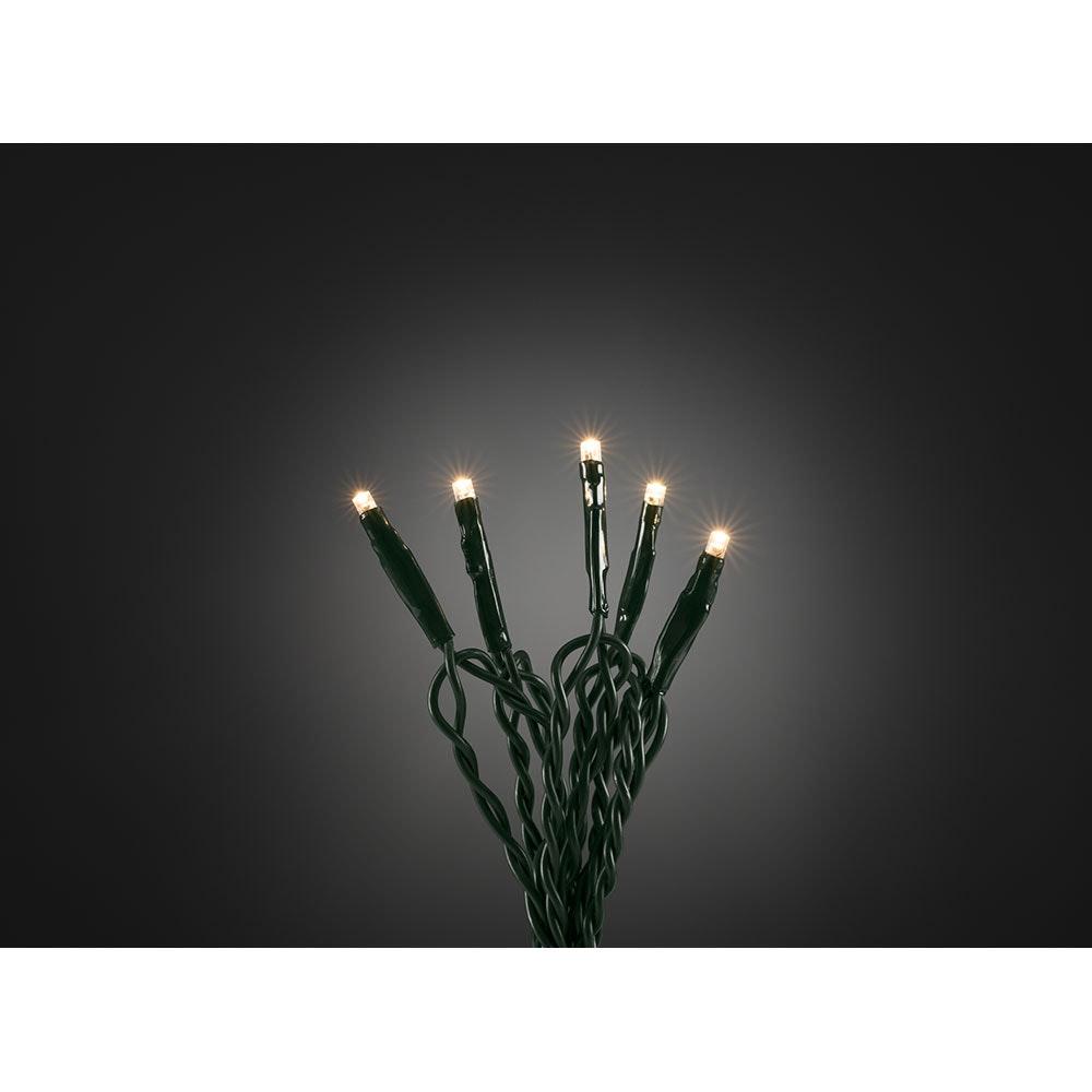 Micro LED Lichterkette 20 Warmweiße Dioden