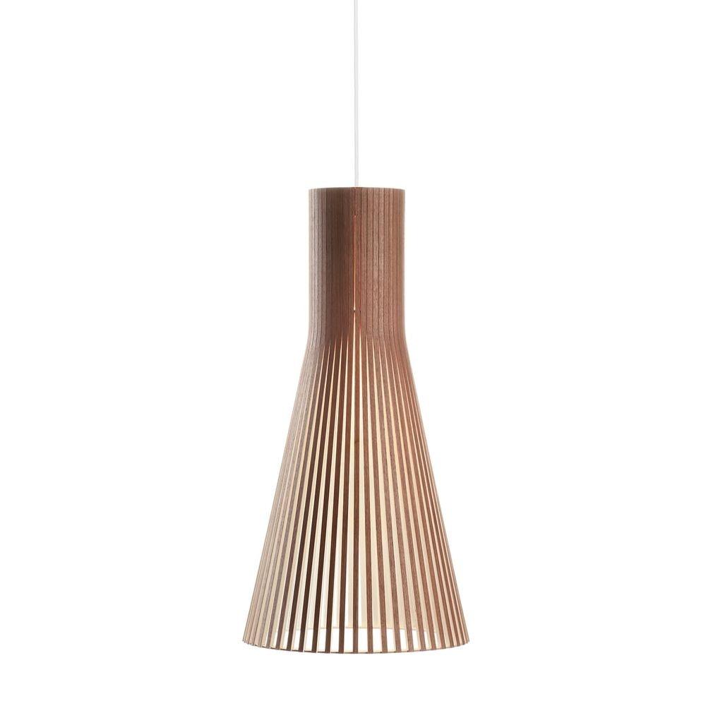 Pendelleuchte Secto 4200 aus Holz Ø 30cm 12