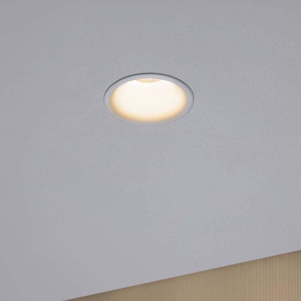 3er-Set LED Einbaulampen Cymbal Coin Warmdimmfunktion IP44 Weiß 4