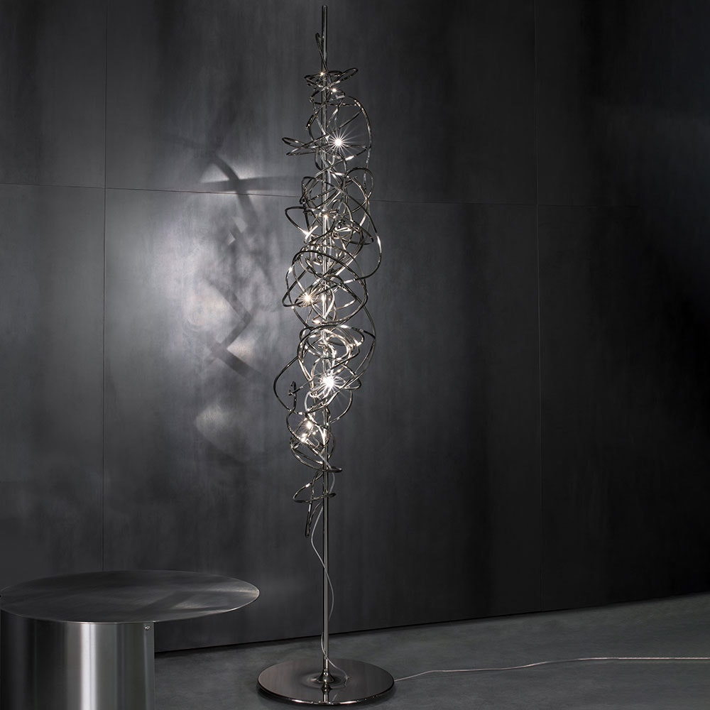 Terzani Doodle Design-Stehlampe 180cm