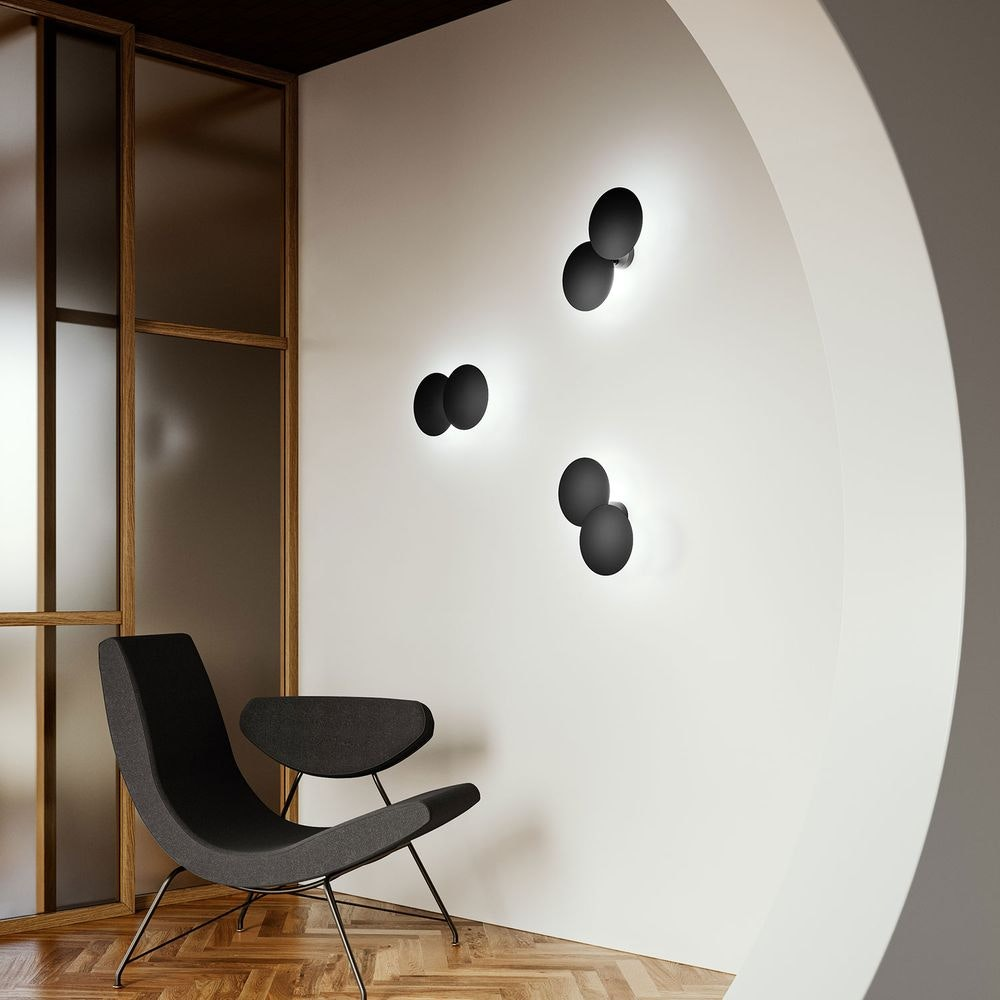 Studio Italia Design Puzzle Round Double LED Wand- & Deckenlampe thumbnail 5