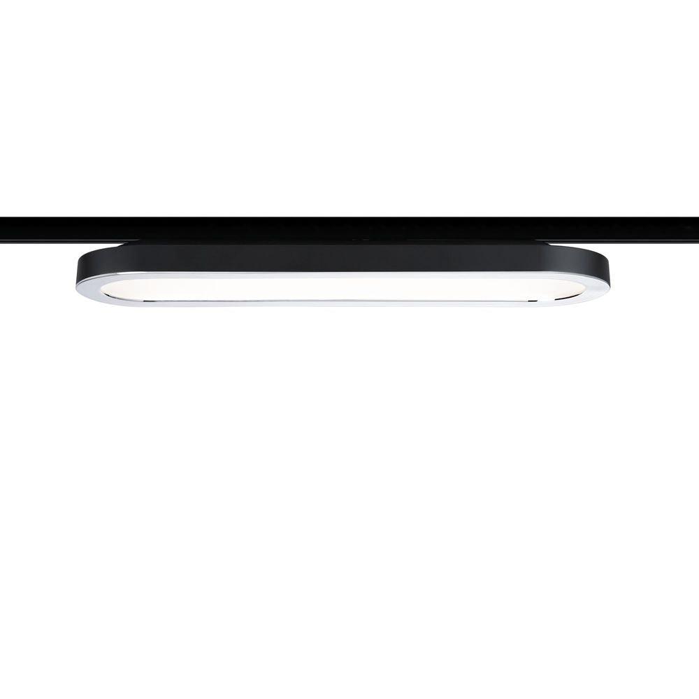 URail LED Panel Ring 7W Schwarz 1