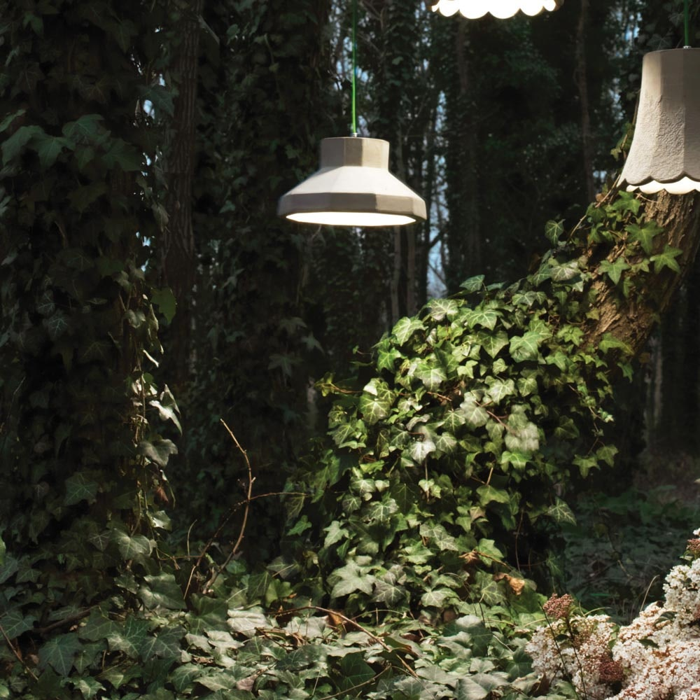 Karman Settenani Gongolo LED-Außen-Hängeleuchte IP65 1