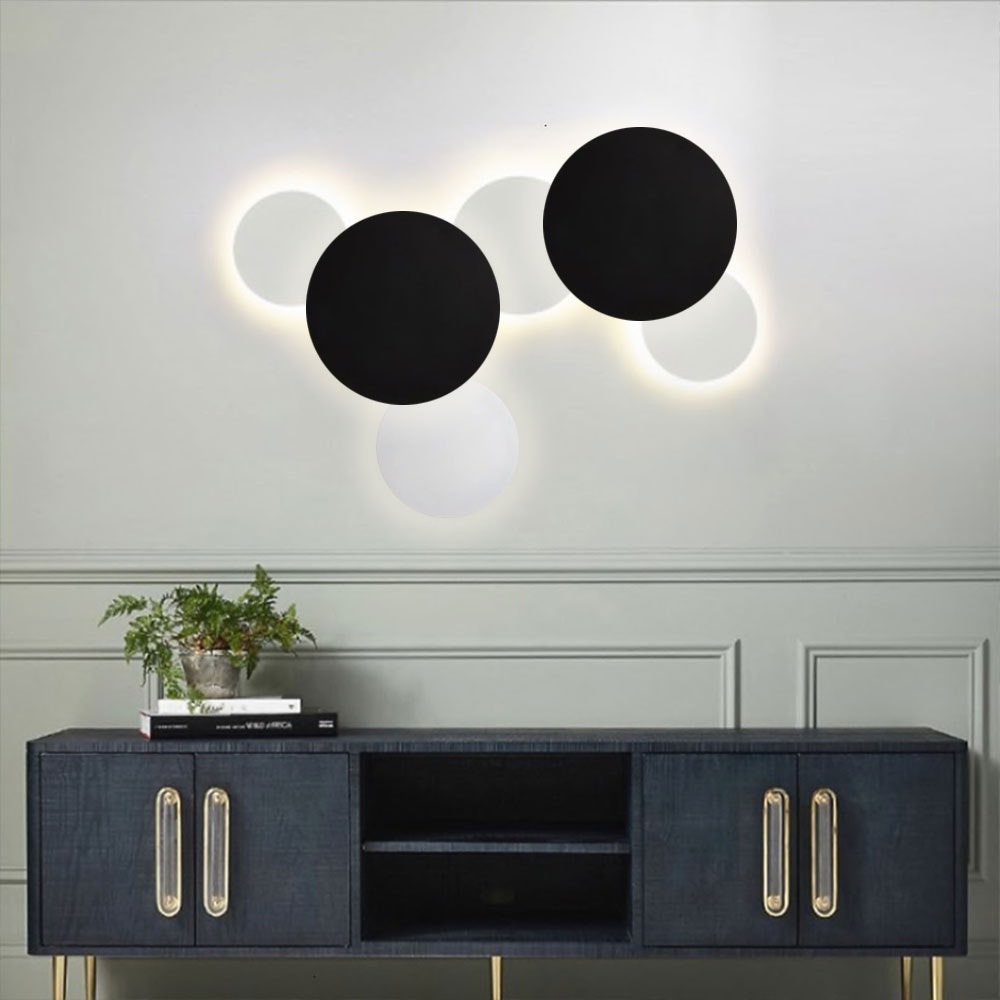 s.LUCE indirekte LED Wandleuchte Plate 3