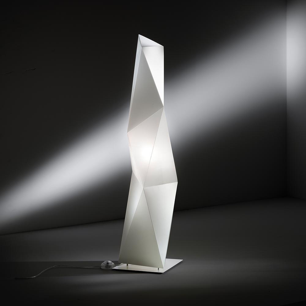 Slamp Stehleuchte Diamond Large Weiß