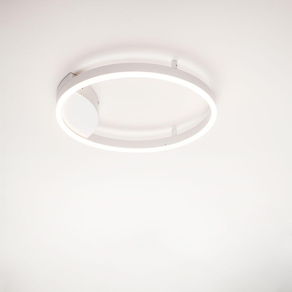 s.LUCE Ring 60 LED Wand & Deckenleuchte Dimmbar 24
